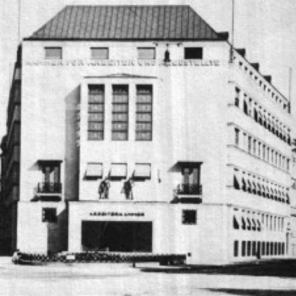 Gründung der Kammer für Arbeiter und Angestellte